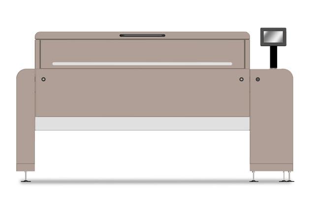 ALCS 1000 S front view rendering