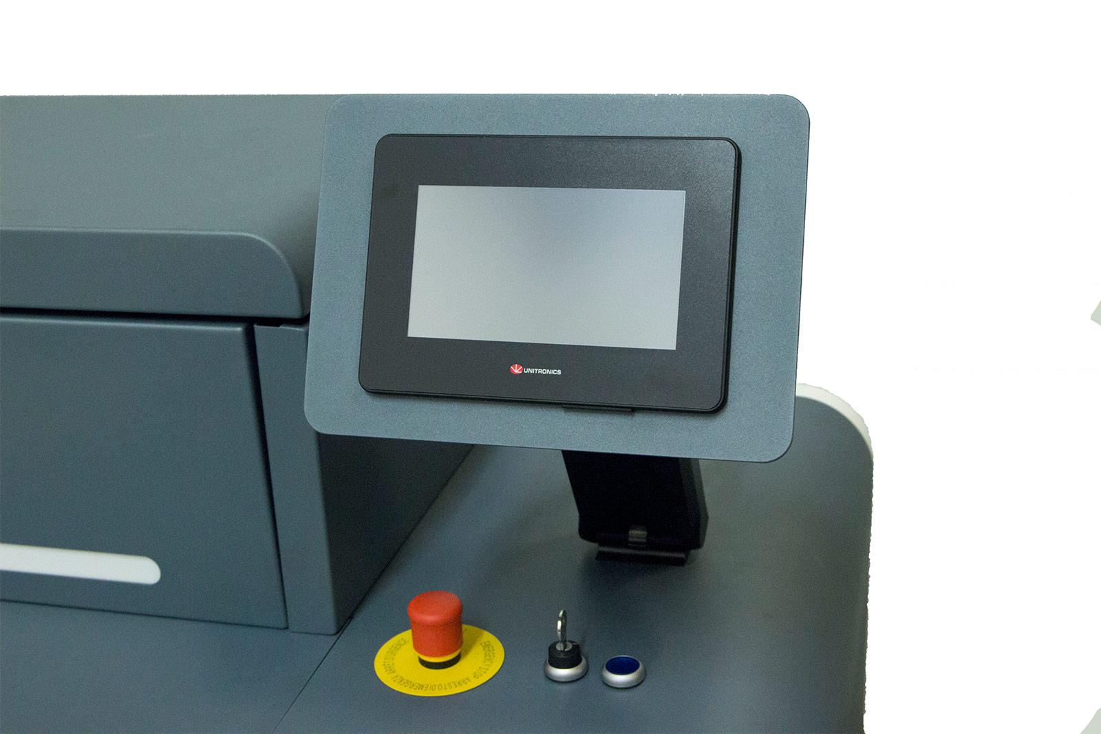 Laserclean - ALCS 1000 S display