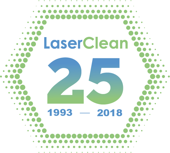 Laserclean 25jaar