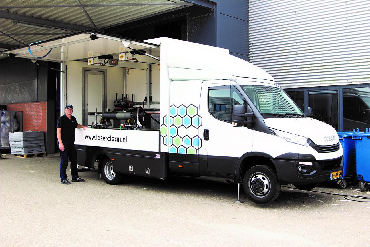 LaserClean truck nieuw