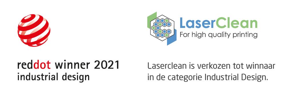 Laserclean winnaar in e categorie Industrial Design